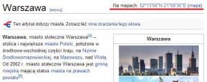 lokalizacji koordynat w Wikipedii
