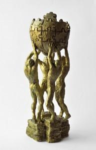Projekt pomnika (Posąg: Mihran Hakobyan - Fotografia: Adam Czernenko)