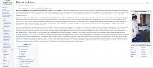 Hasło o wirusie Ebola na angielskiej Wikipedii (https://en.wikipedia.org/wiki/Ebola_virus_disease)