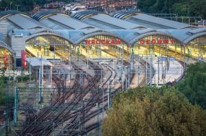 Dworzec we Wrocławiu, nagroda w kategorii Architektura Industrialna i Postindustrialna (fot. Jar.ciurus, licencja CC-BY-SA-3.0)