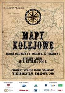 Plakat wystawy w Muzeum Kolejnictwa