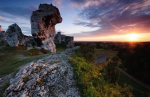 1. wyróżnienie Góra Janowskiego w Ogrodzieńcu, Park Krajobrazowy Orlich Gniazd (fot. Łukasz Śmigasiewicz)