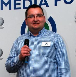 Tomasz Skibiński, nowy członek zarządu Stowarzyszenia.  (fot. Polimerek, CC-BY-SA 3.0)