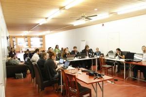 Obrady w mniejszej sali konferencyjnej (fot. Auli Kütt, CC-BY-SA 4.0)