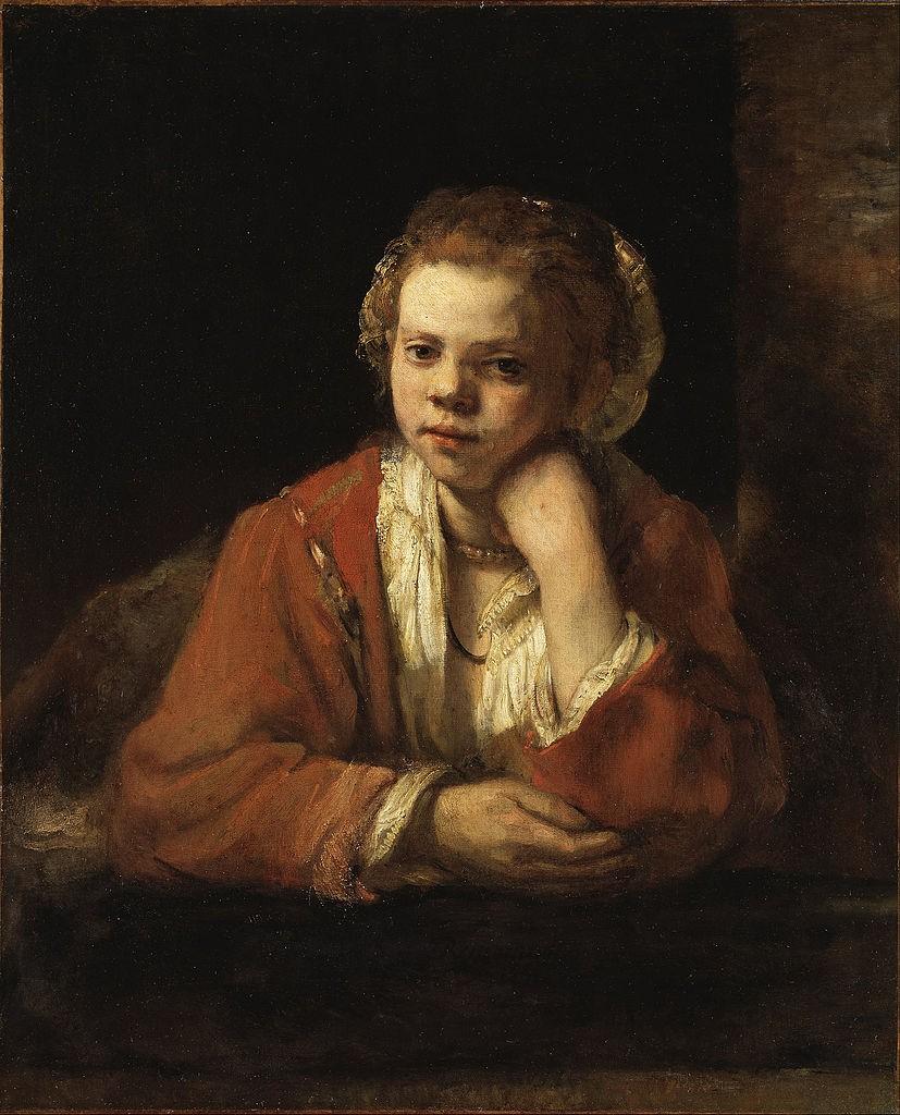 Rembrandt van Rijn, Portret dziewczyny w oknie