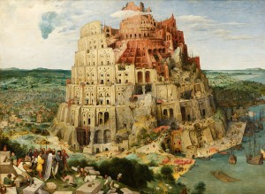Pieter Breugel (starszy), Wieża Babel