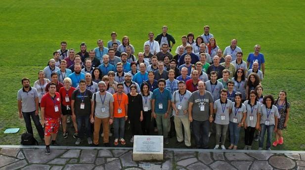 Uczestnicy spotkania Wikimedia CEE Meeting 2016 (autor: Lubekar, CC-BY-SA 4.0 http://creativecommons.org/licenses/by-sa/4.0)