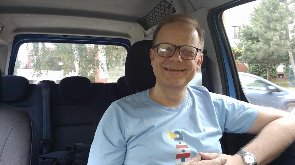 Borys Kozielski w drodze na polskie wybrzeże, CC-BY-SA 4.0